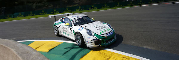 Porsche Mobil 1 Supercup Spa 2016 Mathieu Jaminet(F)