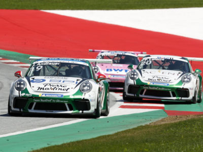 Supercup : Double podium au Red Bull Ring, victoire en Rookie et leader en ProAm