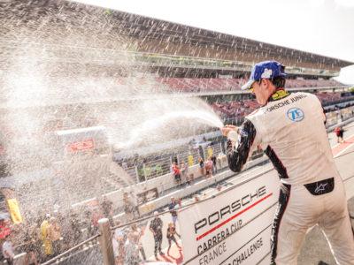 Carrera Cup : Champagne déjà sabré pour Martinet by Alméras avant le Castellet