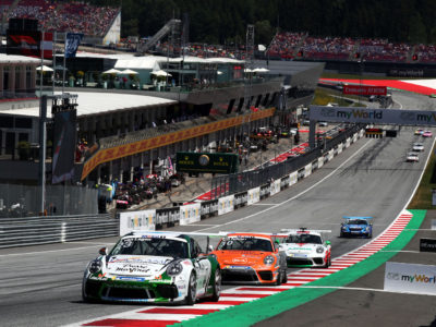 Supercup : Mainmise sur les Rookies et le Pro-Am au Red Bull Ring