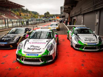Carrera Cup : Une double victoire et un record de piste à Spa